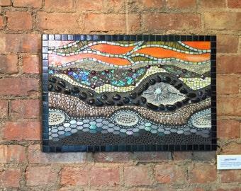 Layers V series piece Original Mosaic Art