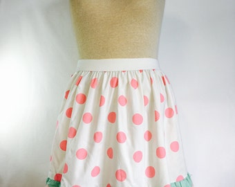 """Disney  Minnie Mouse  Ladies Skirt  from vintage upcycled fabric-  40"""" - 48"""" waist"""