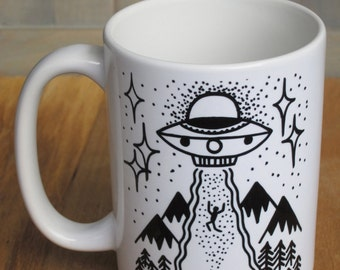 "UFO ""Hop in Dork"" Coffee Mug 