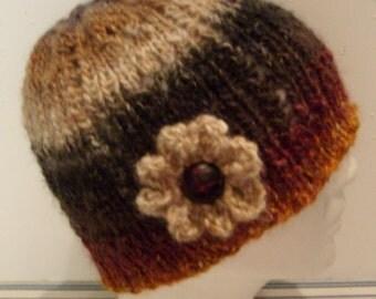 Noro Flower Cloche Hat