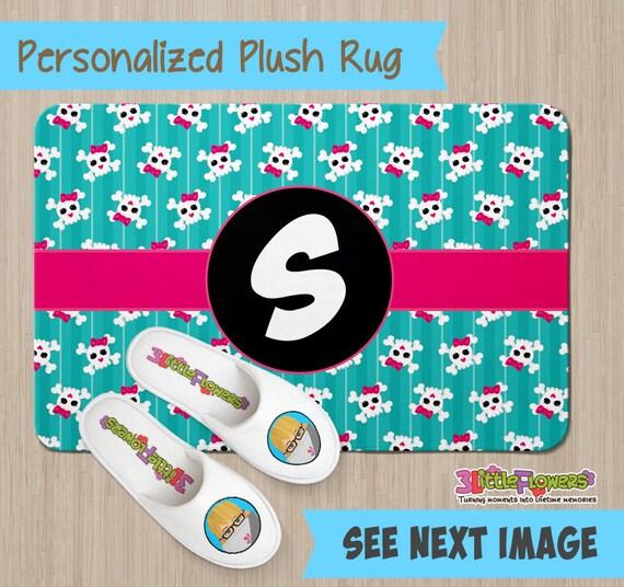 Personalized Skulls Rug