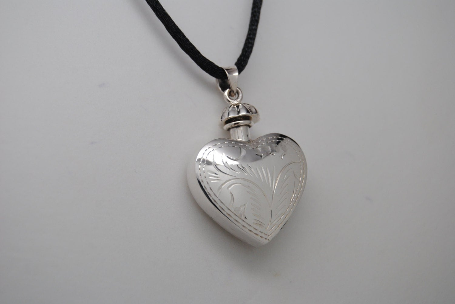 sterling silver 925 cremation jewelry urn necklace ashes