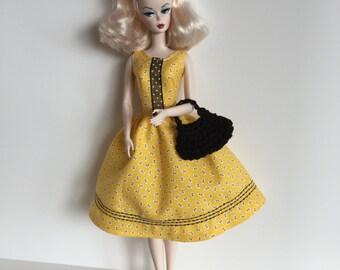 Handmade Barbie Doll Clothes Dress Designs by P D Reneau (G101)