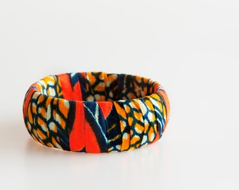 African jewelry, African fabric bracelet, African fabric, Ankara bracelet, fabric bracelet, African fabric bangle, Fabric jewelry, gifts