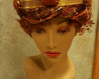 Turban 2 pc head piece crown King head wear Magi Middle Eastern Biblical costume