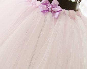 Tutu Purple White Pink