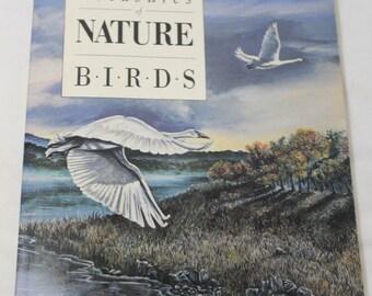 Treasures of Nature-Birds, Birding Journal, Paperback, Gary Carpenter Drawings