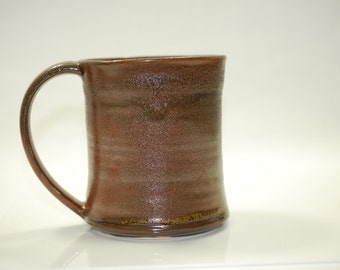 16 oz Mug Ceramic Sparkle Copper Bronze Ceramic Mug Large