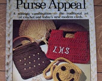 1977 Crochet patterns CROCHET PURSE APPEAL  12 projects