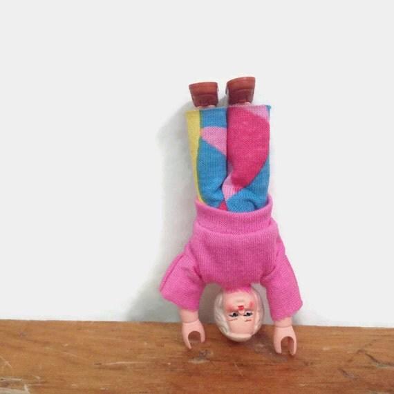 Vintage Miniature Dollhouse Doll - Schleich Germany Girl Doll