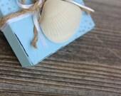 Shell earring Gift Box , Keepsake Gift Box , Beach Wedding , coastal jewelry