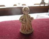 SALE Wee Willie Winkle. Wade Nursery Rhyme Figurine. Canadian Red Rose Tea. Made in England
