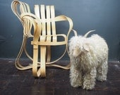 Vintage Sheep Sculpture / Footstool / Lalanne Style