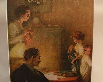 A Heap o' Livin by Edgar A. Guest, First Edition Books,1st Edition 1916 Book of Verse w/ Original Dust Jacket 1st. Edition Books