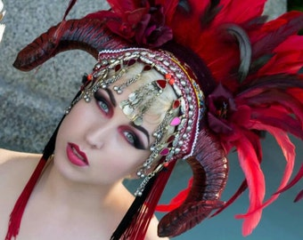 Red Tribal Warrior  by Willow