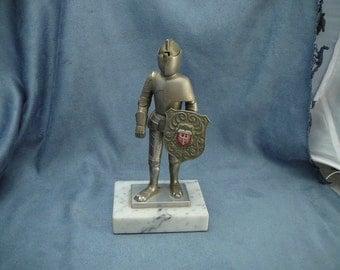 Knight in Armor Cigarette Lighter Vintage Germany