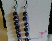 Twisted Wire Cats Eye Amethyst