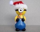 One Eyed Santa Minion Ornament