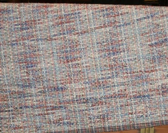 Eco Friendly Woven Rug , All Awhirl Handwoven Rag Rug