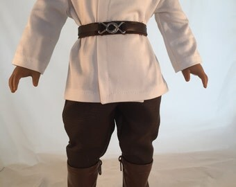 American Girl Sized Jedi style Costume Star Wars