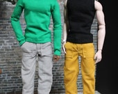 "Corduroy Pants - fit 12"" Fashion Royalty HOMME Dolls - Choose your color"