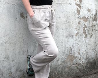 Linen pants, Womens pants, Summer pants, Casual pants.