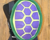 Purple Turtle Shell Bjorn Baby Carrier Cover With Huge Storage Pocket - Ready to Ship