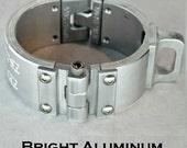 Machined Aluminum Shackle Cuff  - Bright Aluminum