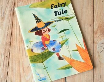 01 Fairy Tale cartoon flower elves notebook