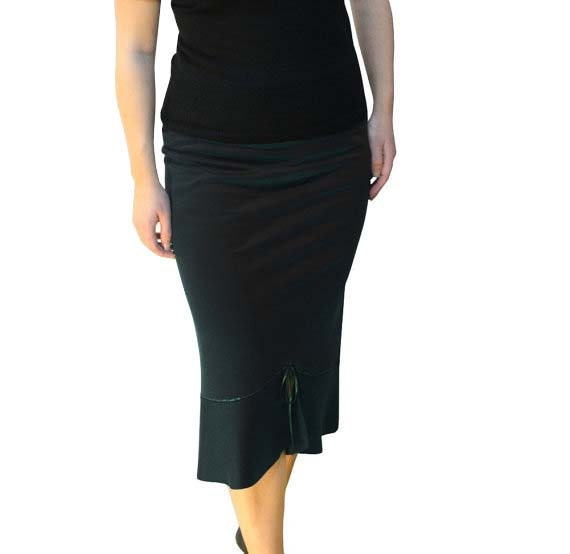 Black Pencil Skirt, Plus Size Pencil Skirt,  Maxi Skirt, Ruffled Skirt, Long Casual Plus Size Skirt for work, Plus Size Clothing day