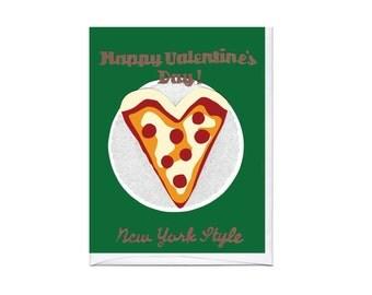 NYC Slice Valentine Card