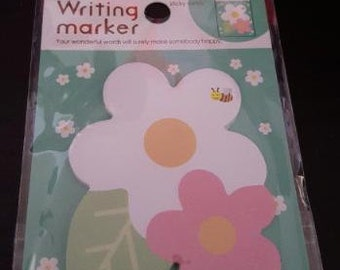 Planner Flower Sticky Notes 1 package 20 sheets.