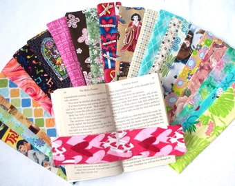 Weighted Bookmarks,Your Choice of Fabric Covered Weighted Bookmark,Star Trek,Zelda,Flowers,WineBottles,Swirls,Diamonds,Checkered,Puppy OOAK