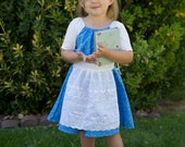 Everyday Play Belle Inspired Blue Dress Beauty and the Beast- Size 2