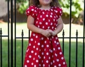 Every Day Play Minnie Mouse Inspired Red Polka Dot Dress