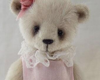 FLEUR a miniature teddy bear