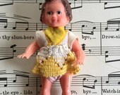 """ARI Germany plastic jointed doll dollhouse doll 3"""""""