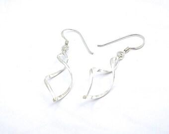 Long Earrings, Silver Earrings Dangle, Unique Earrings, Wedding Earrings, Womens Earrings, Gifts For Mom, Unique Jewelry, Classic Jewelry