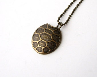 Mens turtle necklace etsy for Real tortoise shell jewelry