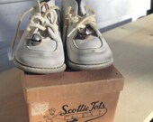 Vintage Baby Shoes with Original Box