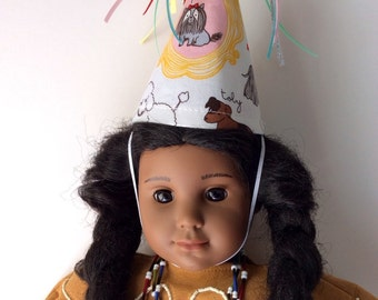 Doll Hat with Dogs-Birthday Party-Children Play