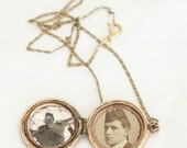 WWII, Vintage, Locket Necklace from Paris