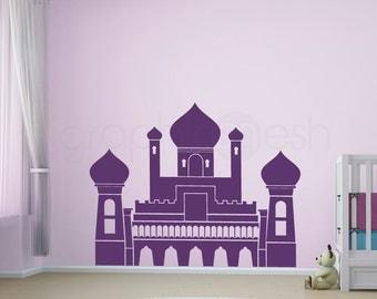 PERSIAN PALACE Wall decor decals - Girls nursery castle art decal