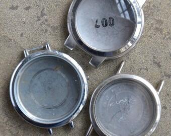 Wrist Watch Cases -- set of 3 -- D6