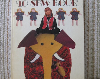 My Learn To Sew Book - A Golden Book by Janet Barber