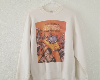 Russ Freeman and The Rippingtons 1996 Tour Sweatshirt