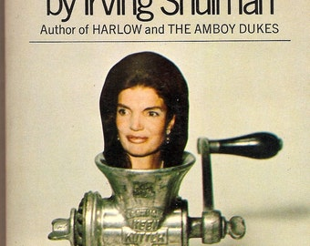 Jackie Kennedy Onassis: Exploitation of a First Lady 1971 PB 1st Irving Shulman
