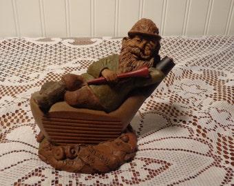 Vintage Tom Clark Figurine  - Tom Clark Mulligan Gnome Statue  -  16-247