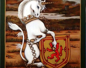 The Queen's Beasts The Unicorn of Scotland