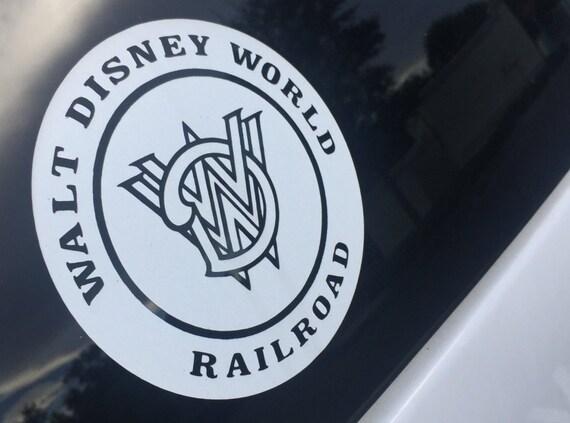 Walt Disney World Railroad Vinyl Decal